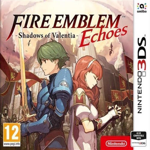 Image of Fire Emblem Echoes Shadows Of Valentia - Nintendo 3Ds
