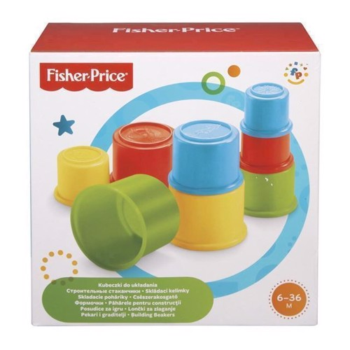 Image of Fisher Price, stapel kopper (0074299756016)