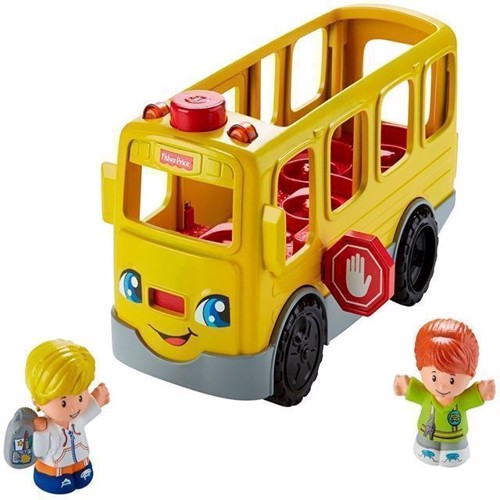 Image of Fisher Price Skolebus (0887961580808)