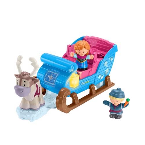 Image of Fisher Price Little People, Disney prinsesse Kristoffs slæde