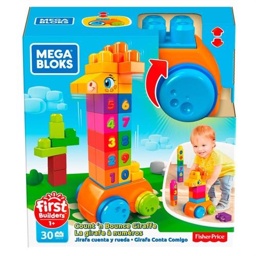 Image of Fisher Price Megabloks 123 Tælle