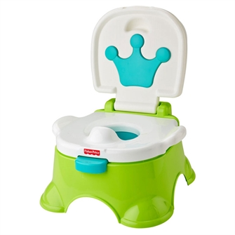 Image of Fisher Price Royal Pot and Stool (887961266627)
