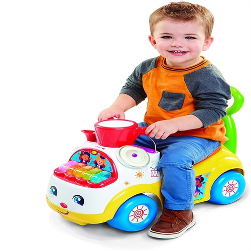 Image of Fisher Price - Ultimate Music Parade Ride On (08380) (0614239083804)