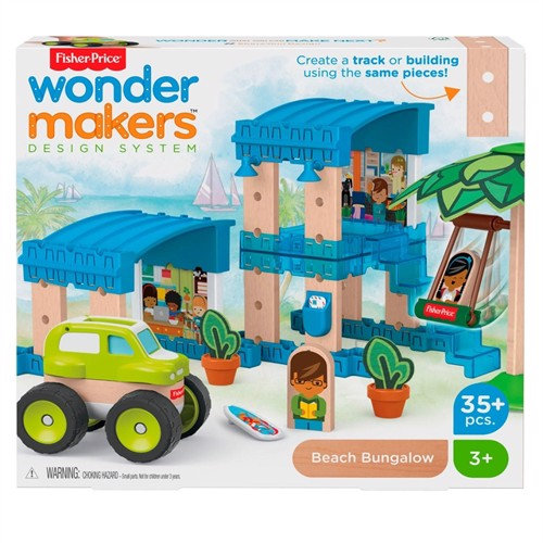 Image of Fisher Price Wondermakers Hus (0887961762761)