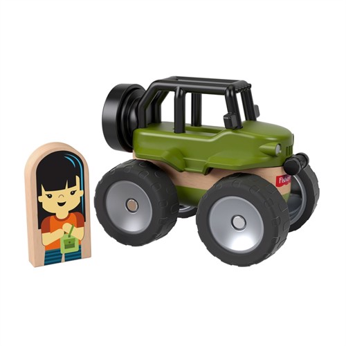 Image of Fisher Price Wondermakers Jeep (0887961767759)