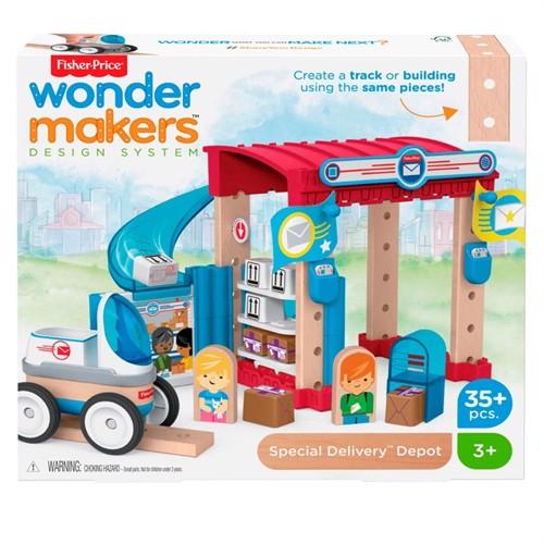 Image of Fisher Price Wondermakers Postkontor (0887961762778)