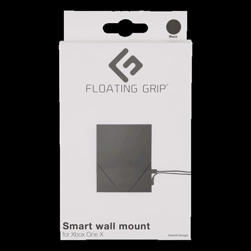 Image of Floating Grip Wall Mount For Xbox One X, Black - Xbox One (5713474000104)