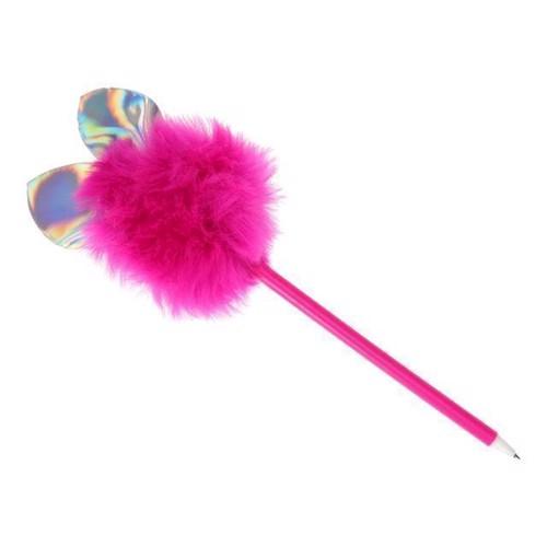 Image of Fluffy Kuglepen med glimmer øre
