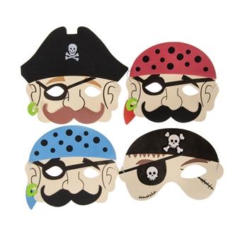 Image of Skum Maske - Pirat (5413247096715)