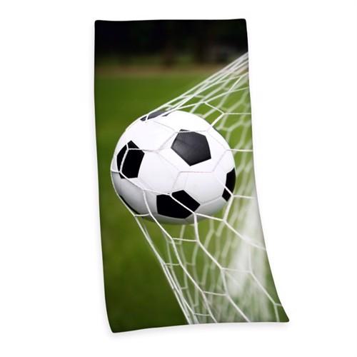 Fodbold Badehåndklæde 100 Procent Bomuld