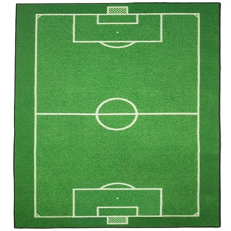 Image of Fodboldbanetæppe 133X95