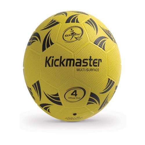 Image of Fodbold kickmaster multi surface gummi str 4