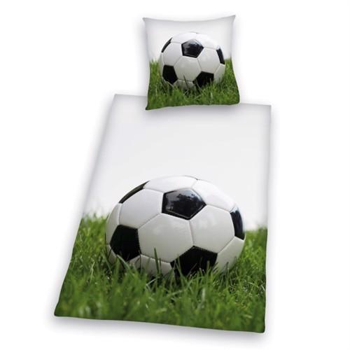 Image of Fodbold Sengetøj 100 Procent Bomuld