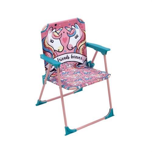 Image of Folde stol med enhjørning