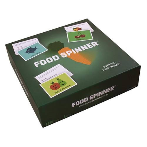 Foodspinner, brætspil til børn