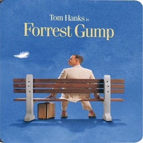 Image of Forrest Gump Steelbook Blu-Ray (7340112742843)