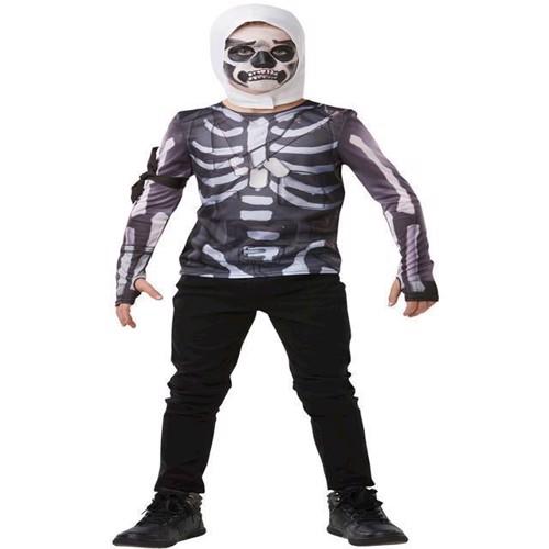 Image of Fortnite - Skull Trooper - Størrelse 9-10 År (R-300208)