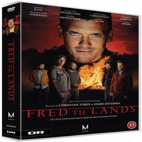 Image of Fred Til Lands (3-Disc Box) DVD (5705535064415)