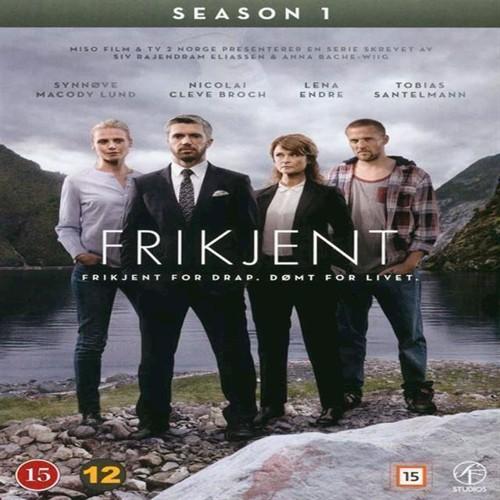 Image of Frikjent Sæson 1 DVD (7333018008861)