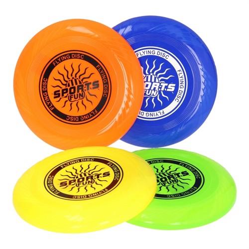 Image of Fresbee farvet 25 cm