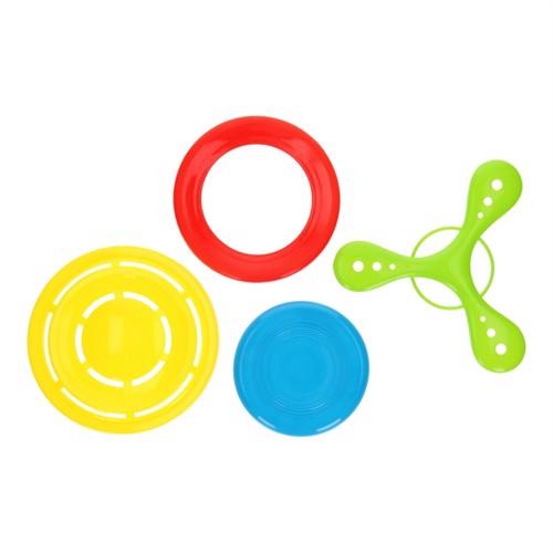 Image of Fresbee sæt, 4 stk