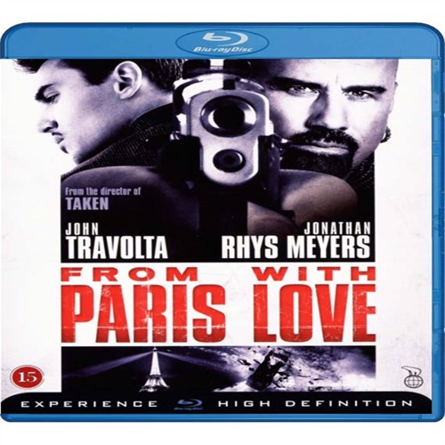 Image of From Paris with love, Blu-ray (5708758681230)
