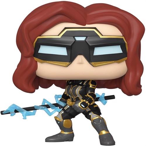 Image of Funko! POP - Marvel: Avengers - Black Widow (Stark Tech) (47813) (0889698478137)
