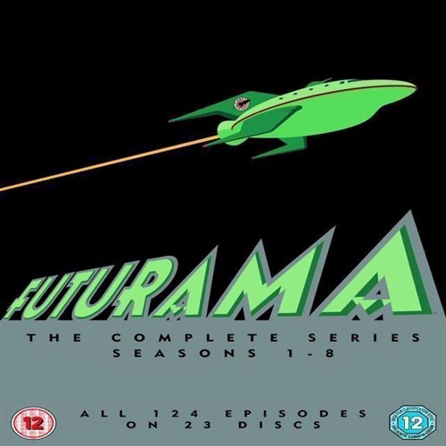 Image of Futurama The Complete Series sæson 1- 8, DVD (7340112743666)