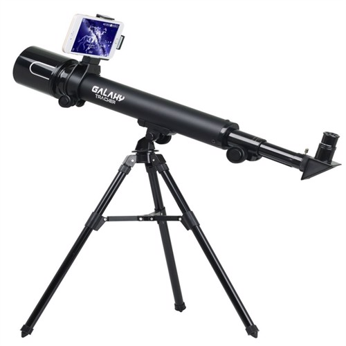 Image of Galaxy Tracker 60 Stjernekikkert Teleskop Til Børn Med Mobiladaptor