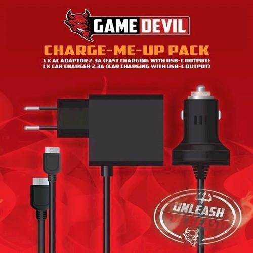 Image of   GameDevil oplade pakke