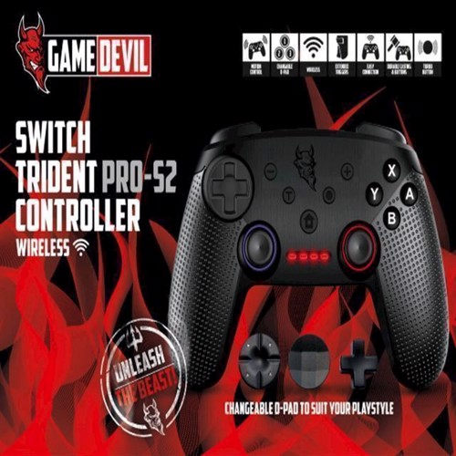 Image of   GameDevil Nintendo Switch Trident PROS2 Controller
