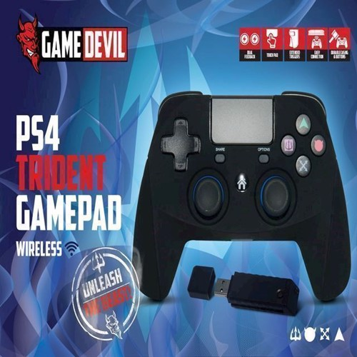 Image of   Game Devil Trident Game Pad RF 24ghz Wireless - PS4