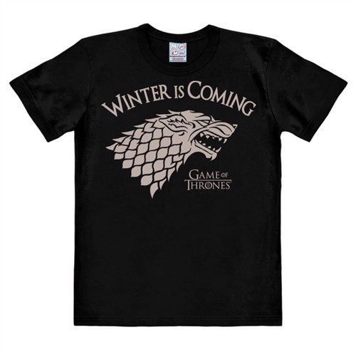 Image of Game Of Thrones - Winter Is Coming - Easyfit - black - Original licensed product (4045846357983)