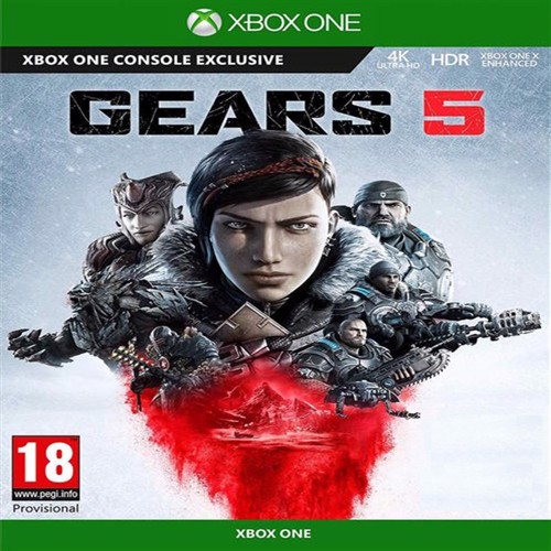 Image of Gears 5 nordic Xbox One (0889842519211)