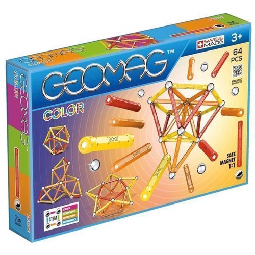 Image of Geomag - Color - 64 dele (0871772002628)