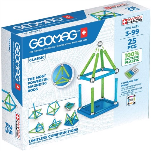Image of Geomag - Classic Green Line 25 -(275) (0871772002758)