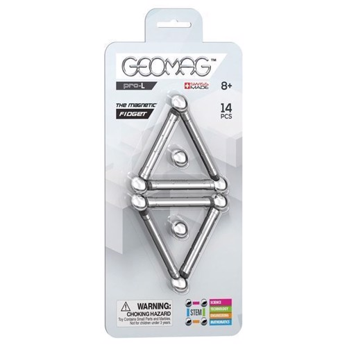 Image of Geomag ProL Magnetic Fidget, 14 dele