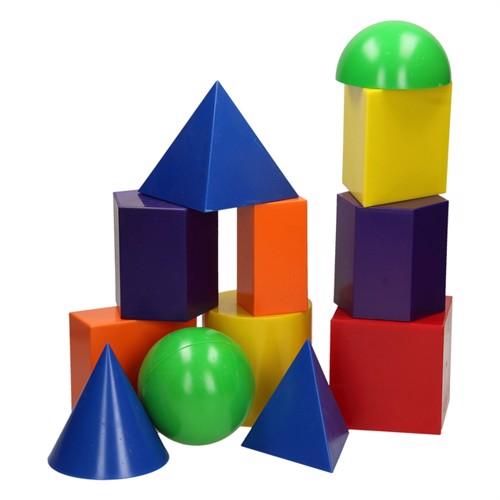 Image of Geometriske forme 12 dele
