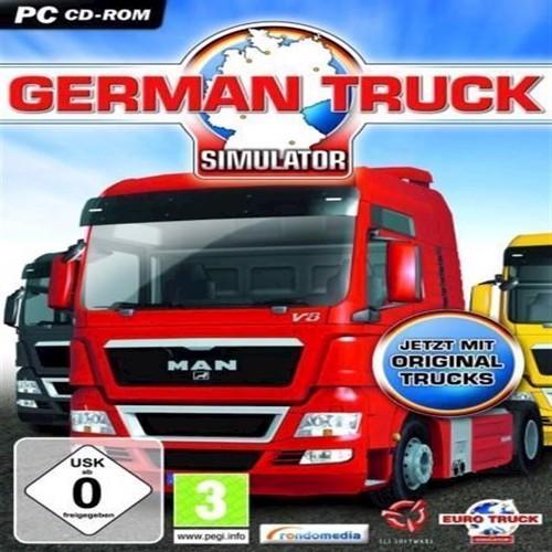 Image of German Truck Simulator - PC (5060020475368)