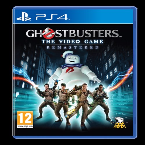 Image of Ghost Busters videospillet remastered PS4 (0745114517609)