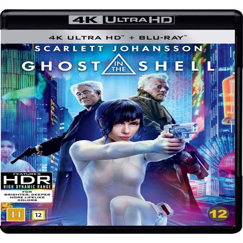 Image of Ghost in the Shell (Scarlett Johansson) (4K Blu-Ray) (7340112739041)