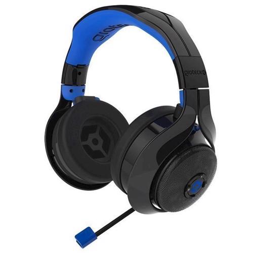 Image of Gioteck FL400 Bluetooth Headset BlackBlue (0812313018586)