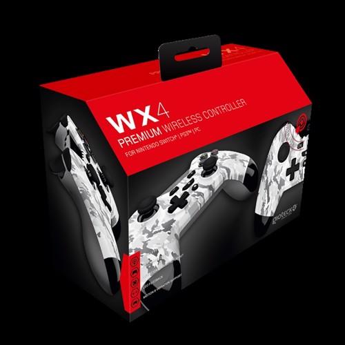 Image of Gioteck Nintendo Switch WX-4 Wireless BT Controller (Camo) - Nintendo Switch (0812313010627)