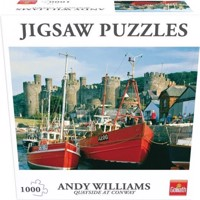 Goliath - Puzzle - Quayside at Conway, NW (1000pcs) (71373)