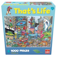Goliath - That's Life - Puzzle - New York (1000pcs) (71386)
