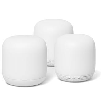 Google – Nest Wifi Router+2pk Point Bundle