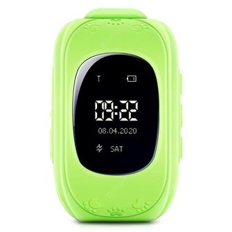 Image of GPS Child Tracker Watch - Green (04090.GREEN) (8718182079890)