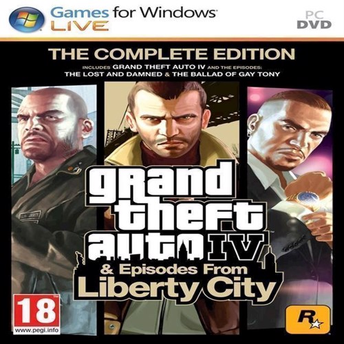 Image of   Grand Theft Auto IV GTA 4 Complete Edition - PS3