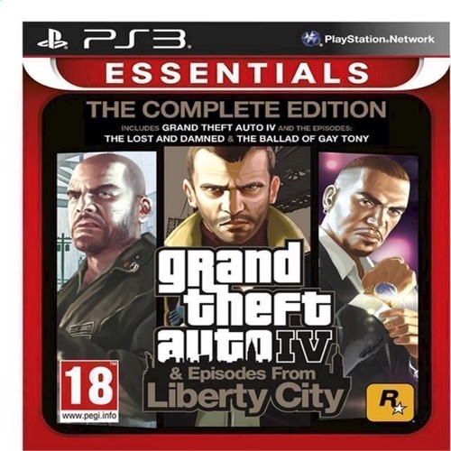 Image of   Grand Theft Auto IV GTA 4 Complete Edition Essentials - PS3