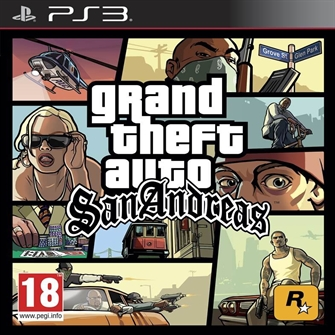 Image of   Grand Theft Auto San Andreas GTA - PS3